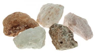 Specksteine 5 x 1 kg, farblich gemischt