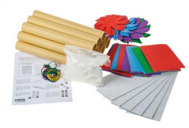 Bastelpackung-Regenmacher, 12 Stück