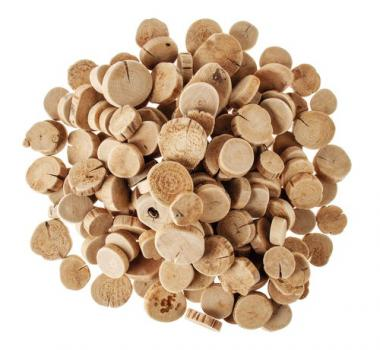 Holzscheiben, ca. 1 kg