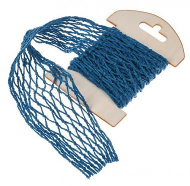 Netzband, blau  (13 x 100 cm)