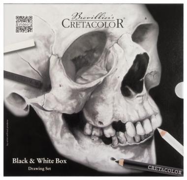 Set de dessin Black & White, 25 éléments