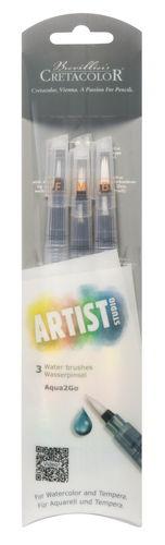 CRETACOLOR® Artist Studio Wasserpinsel, 3er-Set