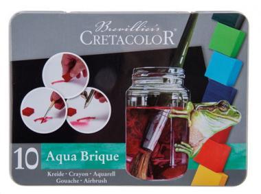 CRETACOLOR® AQUA BRIQUE - set di acquerelli