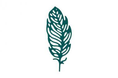 Sizzix Thinlits Die Little Feather