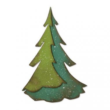Sizzix® Bigz[TM] Die - Layered Pine