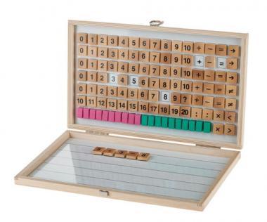 Calculadora magnética de madera, 133 ud.