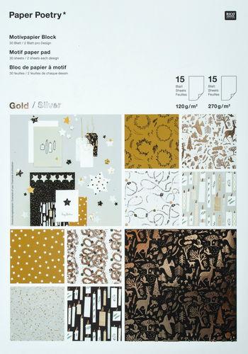 Rico Design® blocco - Nostalgic Christmas