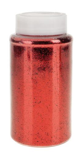 Glitter-Plättchen, 500 g rot