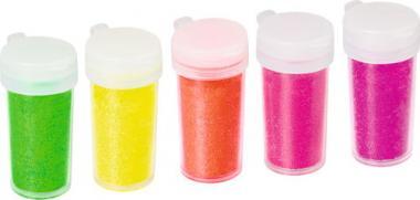 Glitter-Mix Neon, 5er-Set
