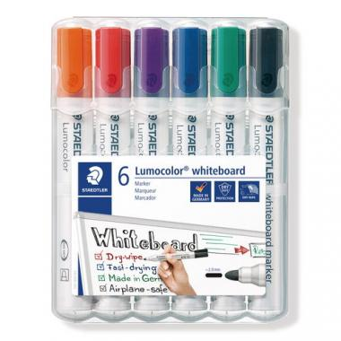 Whiteboard-Marker, 6er-Set   (2 mm)