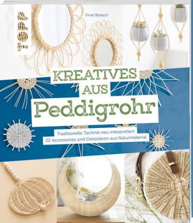 Buch-Kreatives aus Peddigrohr