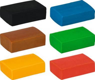 Masa para modelar gomas kawaii - Lote de 6 colores