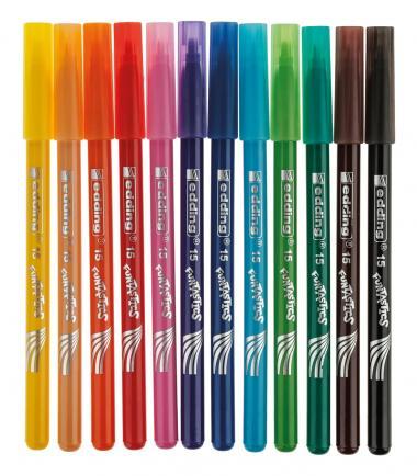 Rotuladores de colores edding 15 Funtastics, 12 ud