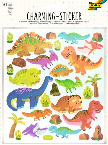 Charming Sticker Dinos & Weltall, 67 Sticker