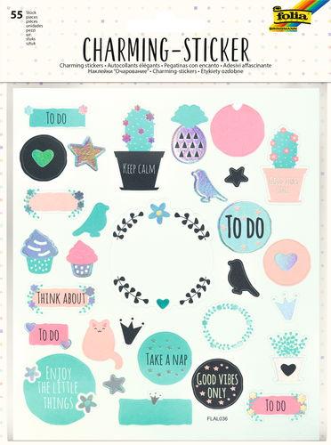 Charming Sticker All Year, 55 Sticker