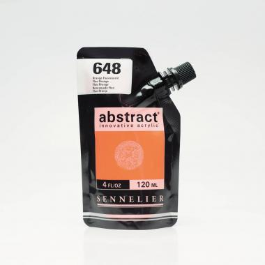 abstract acrylverf (120 ml) fluo oranje