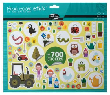 maildor Stickerbuch - Garten, 804 Sticker