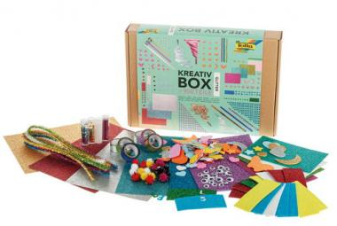 Caja de manualidades para niños - Gomaespuma