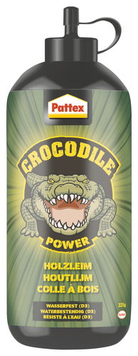 Pattex Crocodile Power Holzleim, 225 g