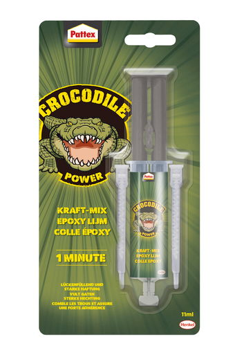 Pattex Crocodile Power Kraft-Mix, 11 ml