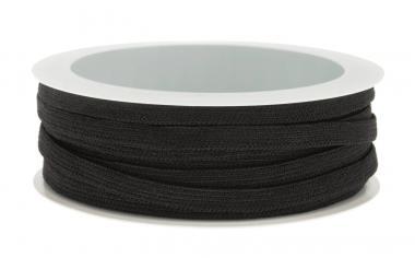 Cinta de goma elástica (5 mm x 5 m) negro