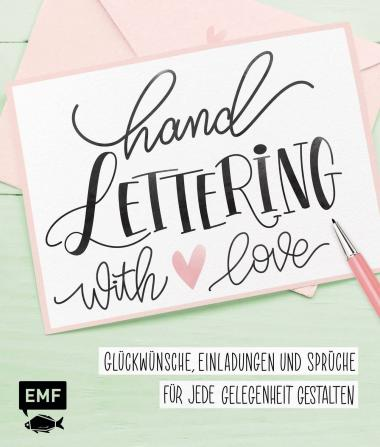 Libro D - Handlettering with Love, EMF Editore