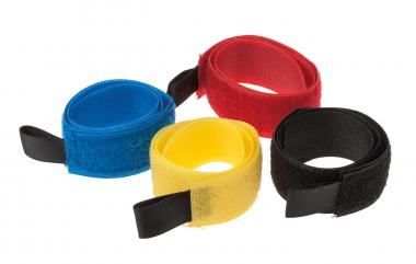 Klettband, 4er-Set (360 x 25 mm)