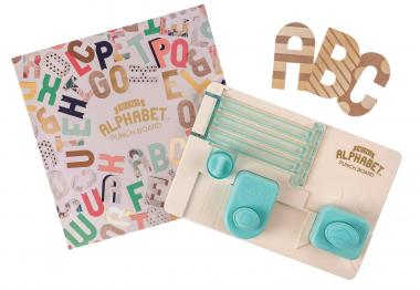 We R Memory Keepers Mini Alphabet Punch Board