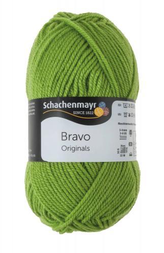 Lana Schachenmayr Bravo (50g/133m), verde limón