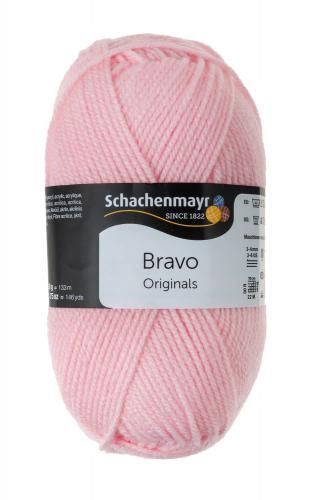 Schachenmayr Bravo Originals - lana, rosa