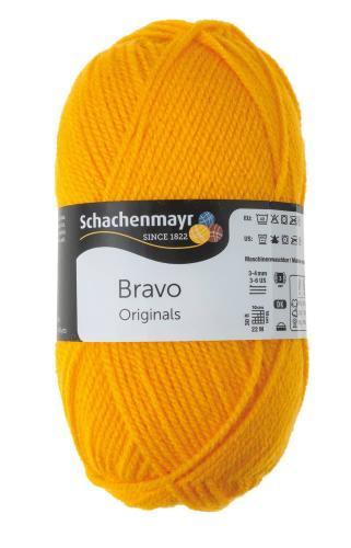 Schachenmayr Bravo Originals 50g/133m,gelb