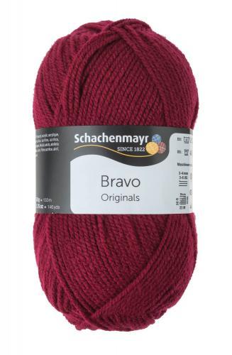 Schachenmayr Bravo Originals (50g/133m) wijnrood