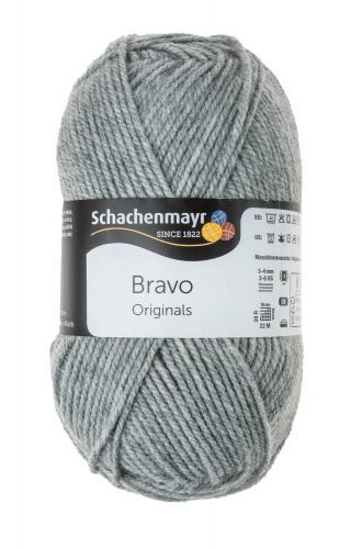 Lana Schachenmayr Bravo (50g/133m), gris claro
