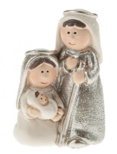 Figura de Pesebre de resina - Sagrada Familia