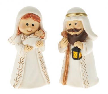Figuras del Pesebre de resina - Sagrada Familia