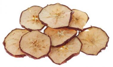 Apfelscheiben getrocknet, 30 g, natur