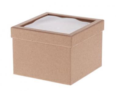 Boîte Paper-Art avec couvercle à secouer