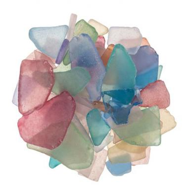 Mosaico de vidrio mate (10-45 mm) 300 g
