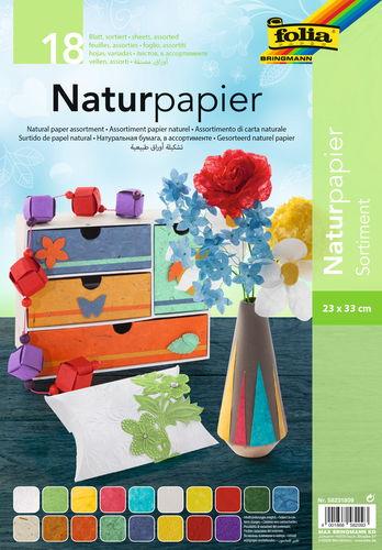 naturpapier kombipack 18 blatt 5 sorten 23x33cm naturpapier seidenpapier von opitec